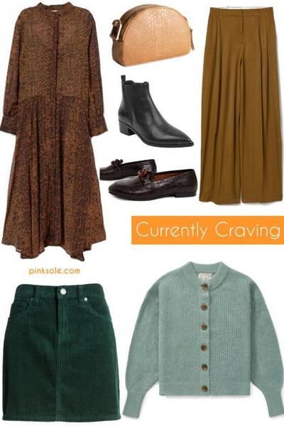pinksole blogger dress bag shoes pants skirt cardigan