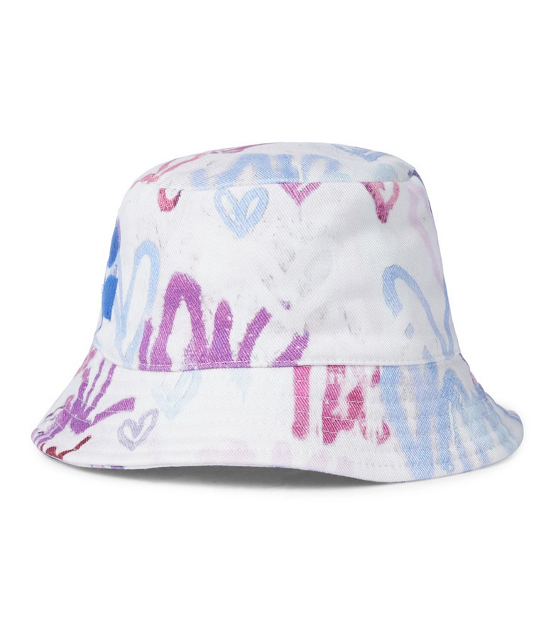 Isabel Marant Haley printed cotton bucket hat