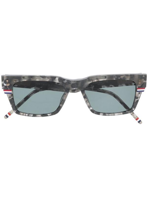 Thom Browne Eyewear rectangle frame sunglasses in grey