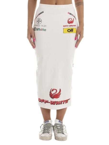 Off-White Multilogo Sporty Skirt