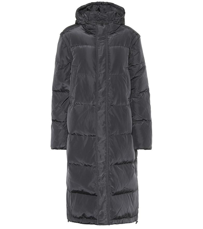 Ganni Down coat in black