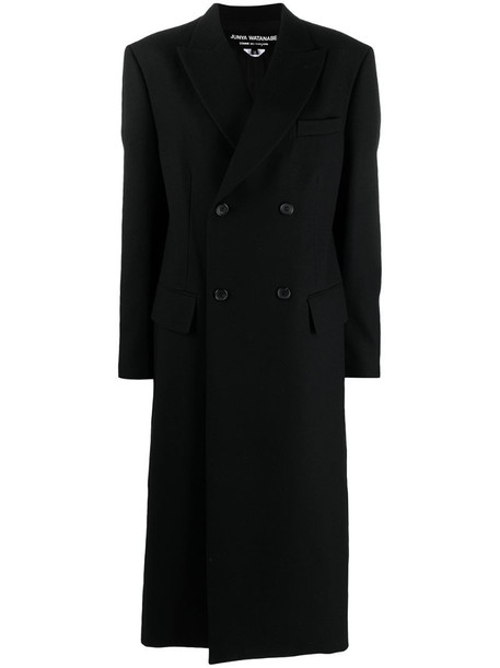 Junya Watanabe double-breasted coat in black