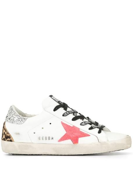 Golden Goose Superstar low-top sneakers in white