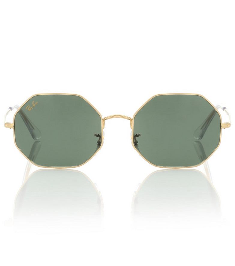 Ray-Ban RB1972 Octagon sunglasses in gold