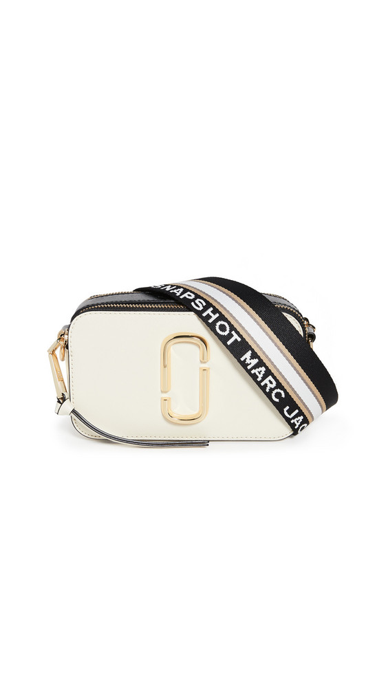 The Marc Jacobs Snapshot Camera Bag in white / multi