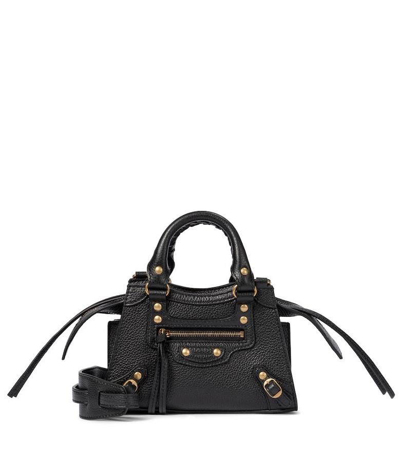 Balenciaga Neo Classic City Nano leather tote in black