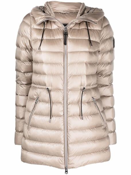 Mackage Ivy drawstring-waist padded coat - Neutrals