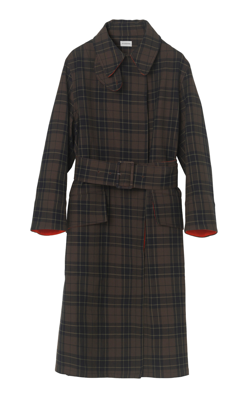 By Malene Birger Bourdon Checkered Coats in print