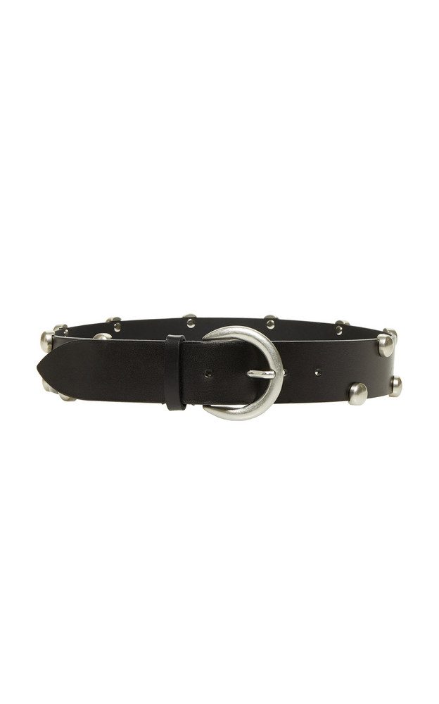 Isabel Marant Goby Studded Leather Belt Size: S in black