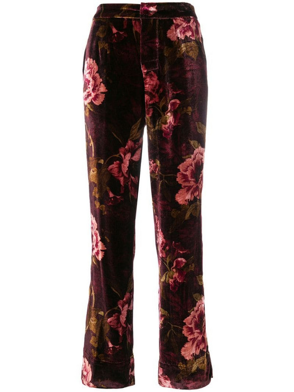 F.R.S For Restless Sleepers Crono trousers in red
