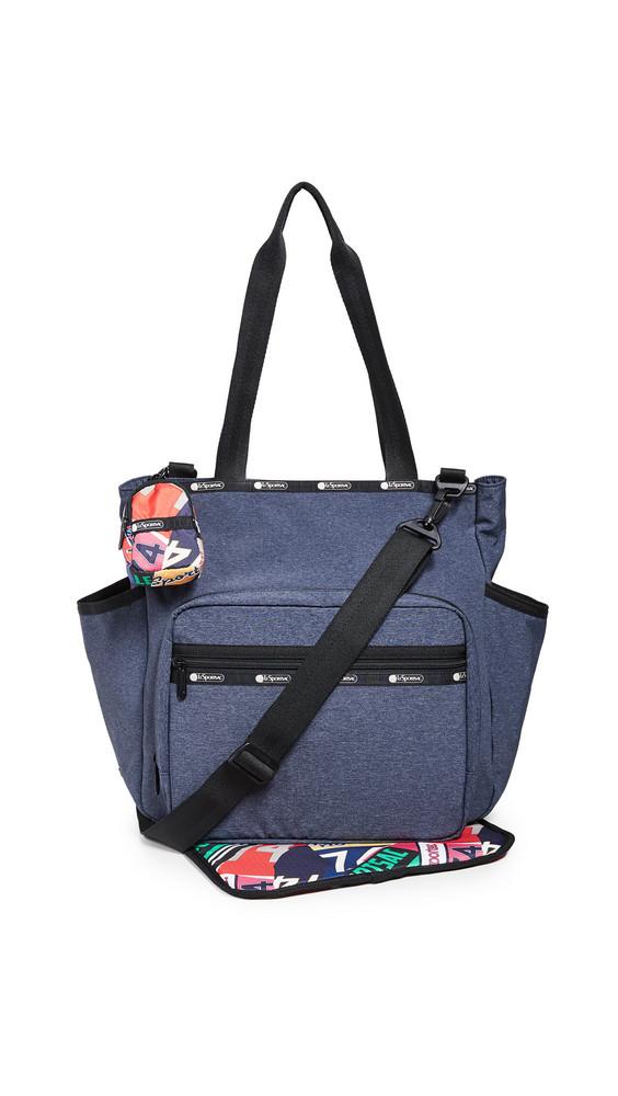 LeSportsac Janis Diaper Bag Tote in navy