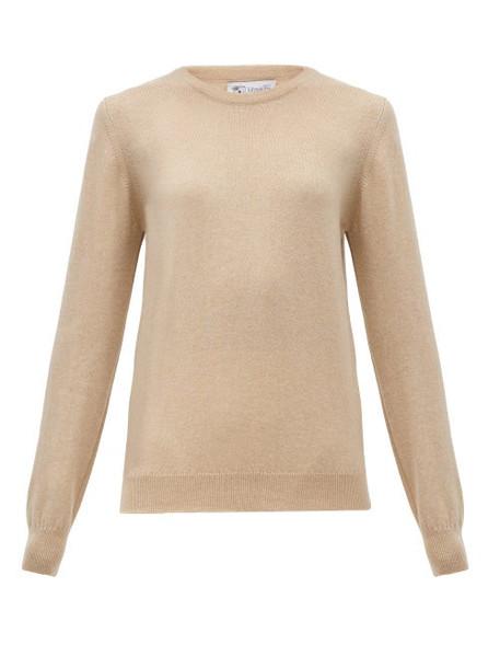 Johnston's Of Elgin - Cashmere Sweater - Womens - Beige