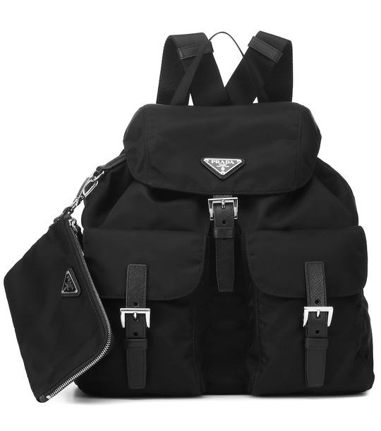 Prada Nylon backpack in black
