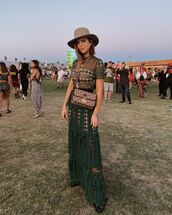dress,maxi dress,green dress,short dress,lace dress,dior bag,ankle boots,black boots,hat