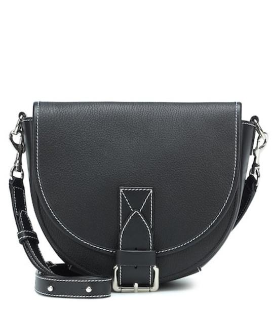 JW Anderson Bike leather crossbody bag in black