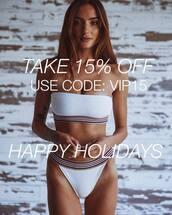 bikini top,white bikini top,bikini bottoms,white bikini bottom,swimwear