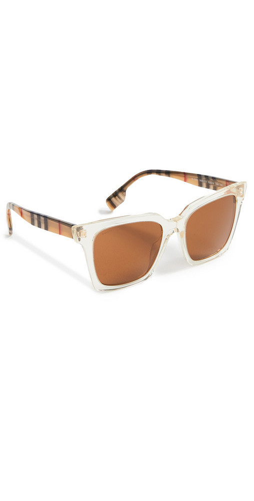 Burberry Maple Sunglasses in brown / yellow