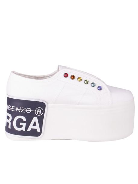 Marco De Vincenzo Sneakers in white