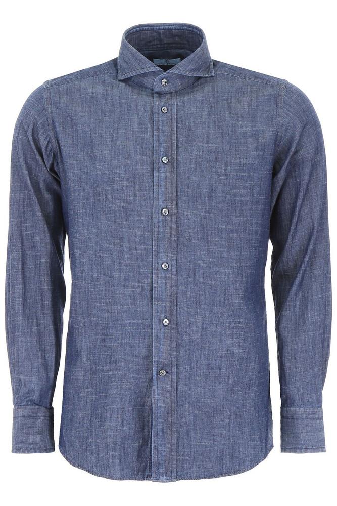 Tagliatore Covent Shirt in blue