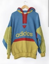 sweater,adidas,vintage,90s style,80s style,classic,hoodie