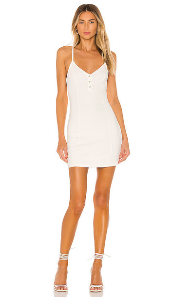 Privacy Please Lainey Mini Dress in White