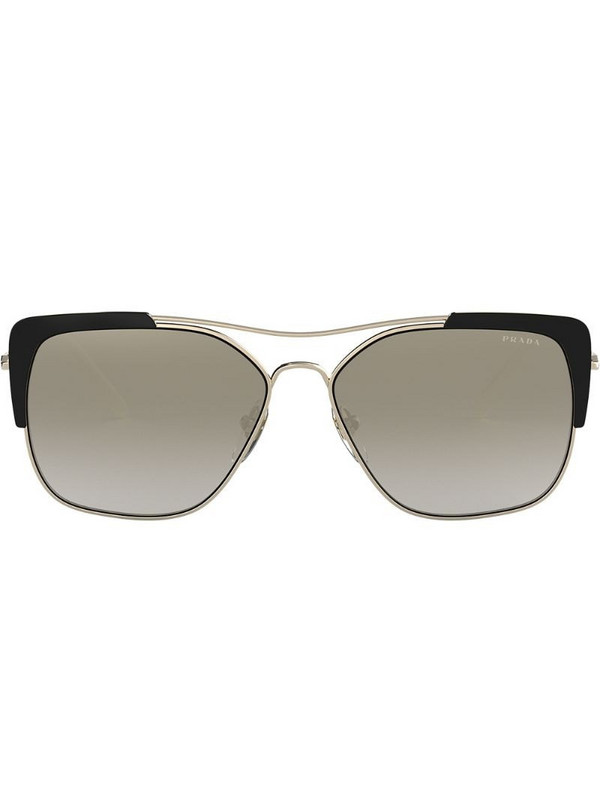 Prada Eyewear square frame sunglasses in black