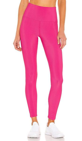 BEACH RIOT Ayla Legging in Pink in fuchsia