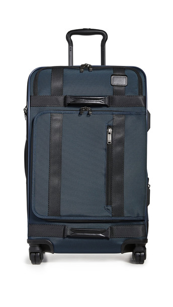 Tumi Merge Short Trip Expandable 4 Wheeled Packing Case in navy