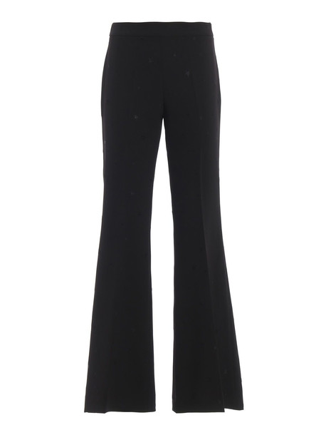Parosh Embroidered Star Pants in nero