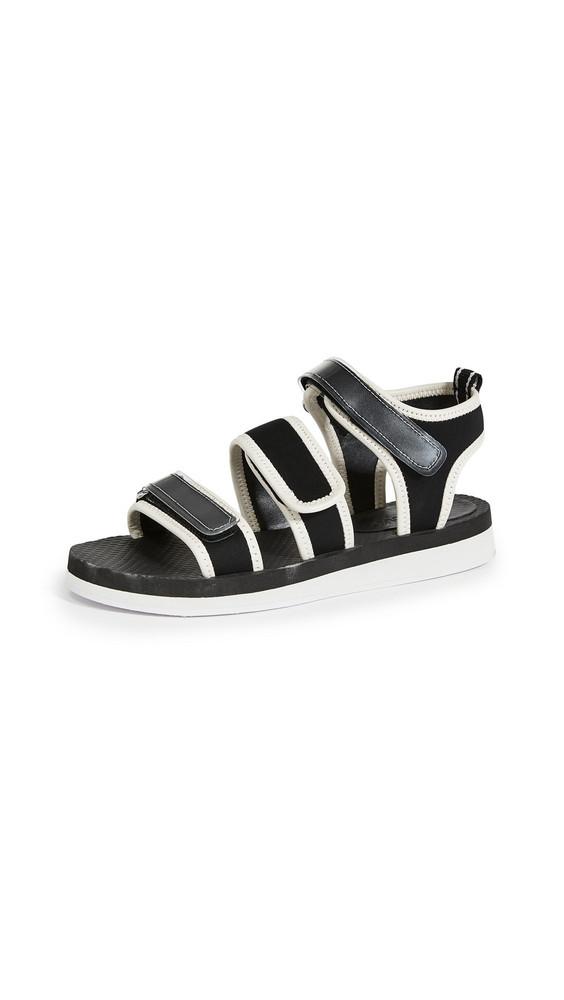 Villa Rouge Cedar Sport Sandals in black / white
