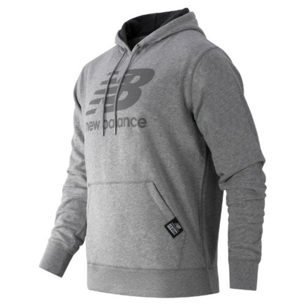 New Balance 53517 Men's Pullover Hoodie - Grey (MT53517AG)