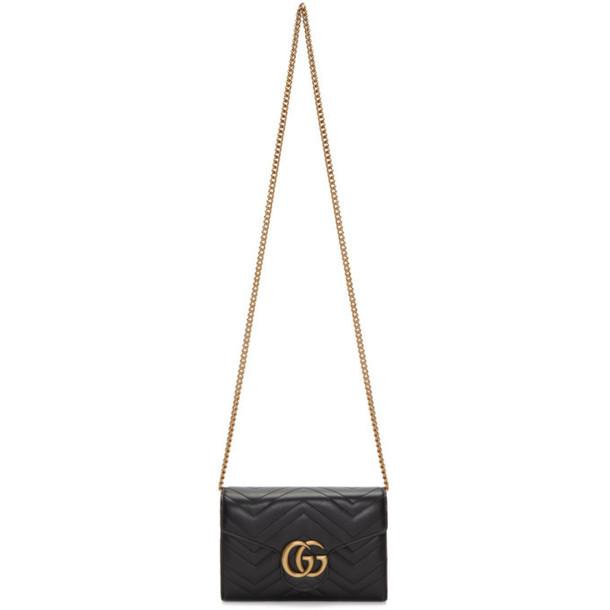 Gucci Black Marmont Chain Bag