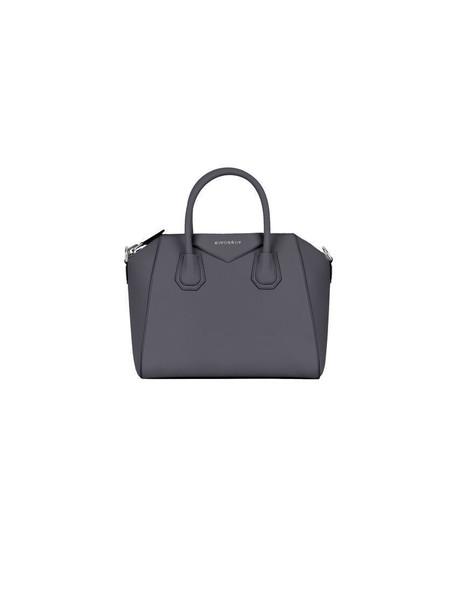 Givenchy Antigona S Leather Tote in grey