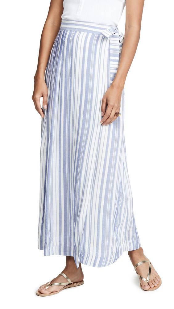 Heartmade Sero Skirt in blue / white