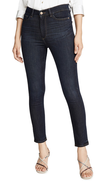DL DL1961 Farrow Ankle High Rise Skinny Jeans