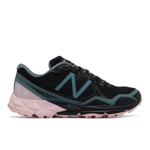New Balance 910v3 Trail Women's Trail Running Shoes - Black/Pink (WT910BP3)