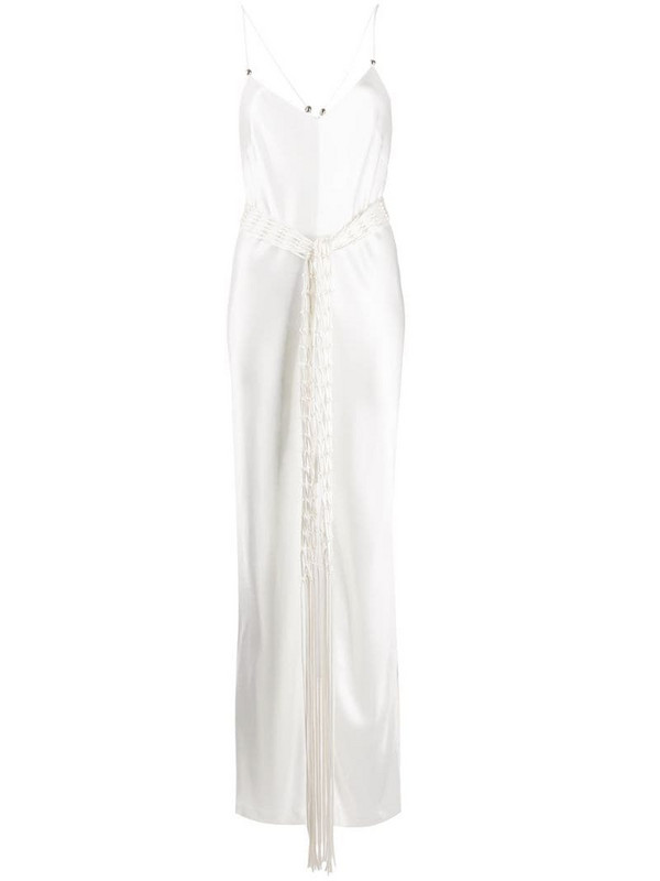 Galvan Slouchy jumpsuit in white
