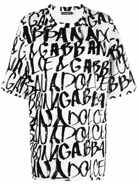 Dolce & Gabbana logo-print T-shirt - White