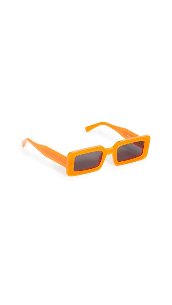 Chimi Neon Hazard Sunglasses in orange