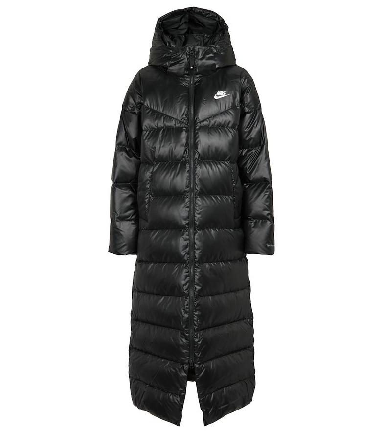 Nike City Series down coat in black