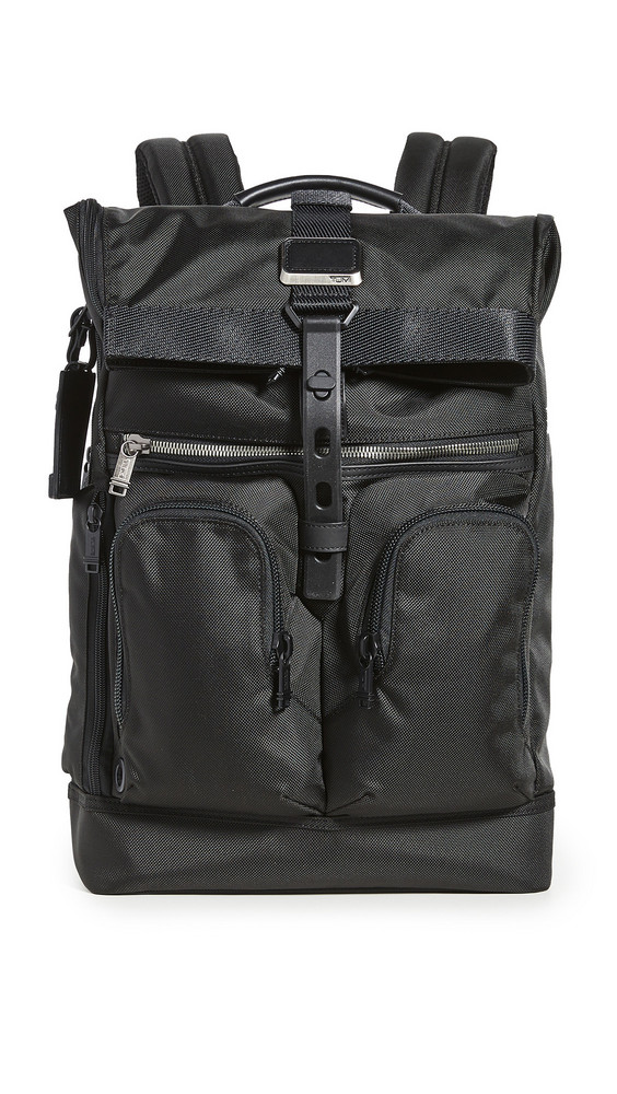 TUMI Alpha Bravo Lance Backpack in black