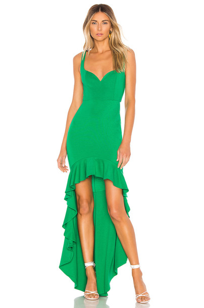 Lovers + Friends Harlow Gown in green