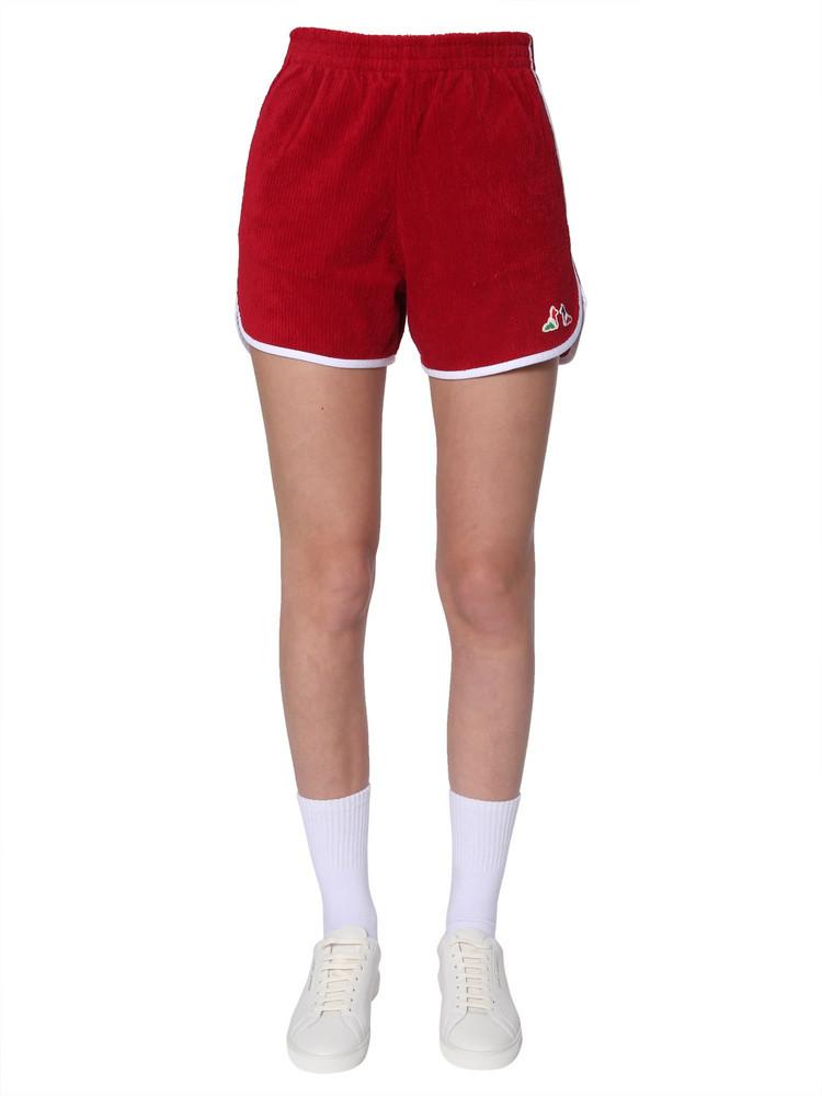 Maison Kitsuné Maison Kitsuné Ribbed Sponge Shorts