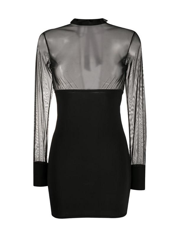 Maison Close Madame Rêve dress in black