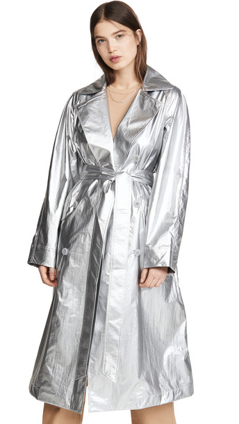 Tibi Metallic Trench