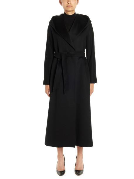 Max Mara Studio danton Coat in black
