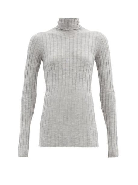Petar Petrov - Karen Roll-neck Merino-wool Sweater - Womens - Grey