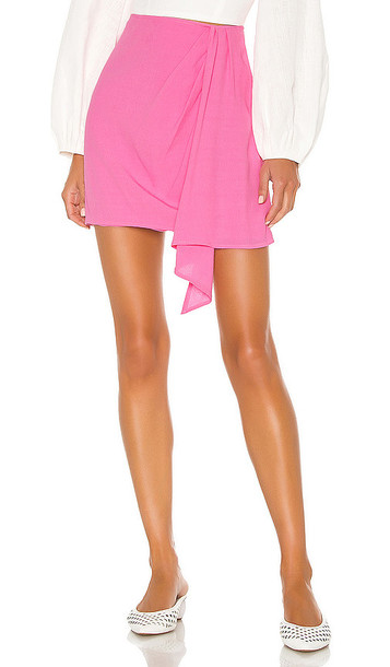 FLYNN SKYE Samantha Skirt in Pink