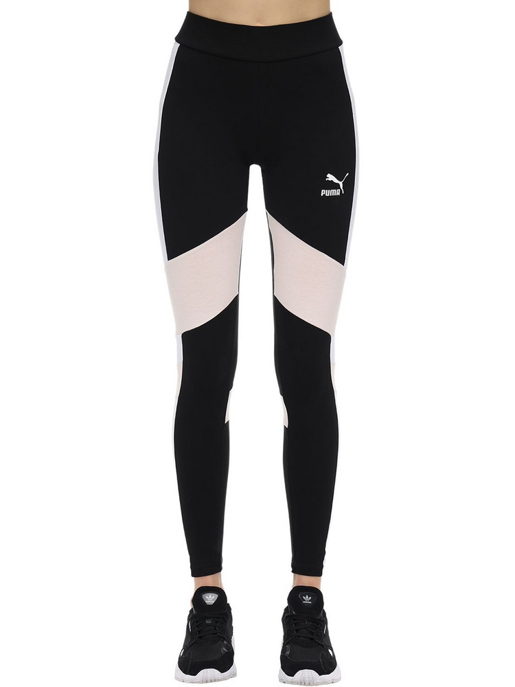 PUMA SELECT Tfs Stretch Cotton Leggings in black / multi