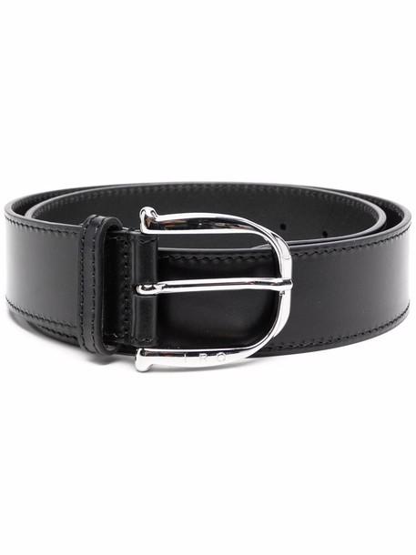 IRO adjustable leather belt - Black